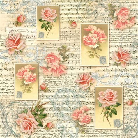 Printable Decoupage Paper - ricepaper decoupage paper scrapbooking sheets craft