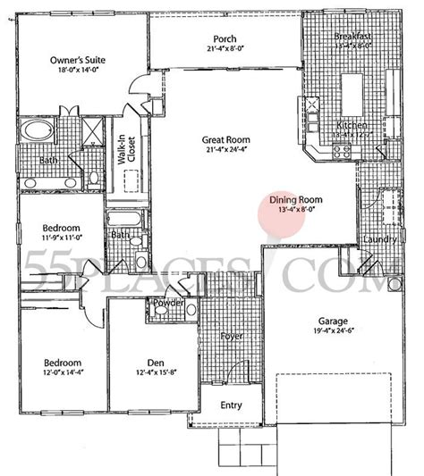 wisteria floor plan wisteria floorplan 2403 sq ft sun city hilton head