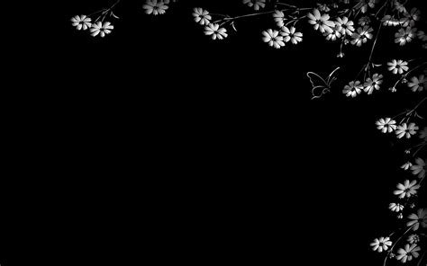 white and black wallpaper black and white floral wallpaper 2560x1600 57212