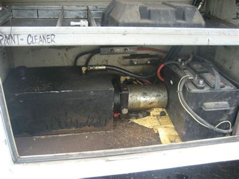 truck bed air compressor buy used ford f450 4x4 utility sevice mechanics dump bed