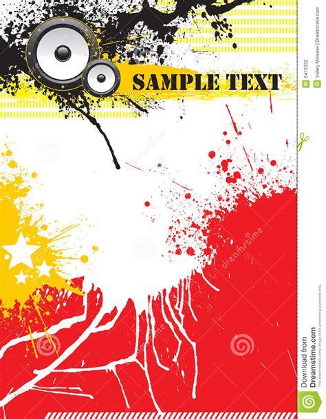 poster design jpg grunge music poster design stock vector illustration of