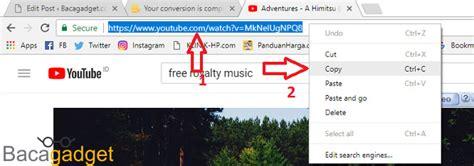 cara download mp3 dari youtube melalui android cara download lagu dari youtube tanpa aplikasi