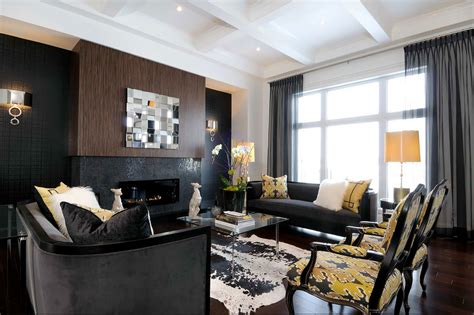 black and brown living room decor black furniture interior design photo ideas small design ideas