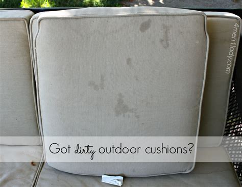 Clean Cushions how to clean outdoor cushions and a 250 gift card giveaway
