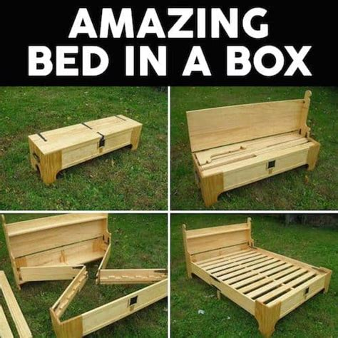 bed in a box plans pallet ideas diy pinterest top pins the best collection