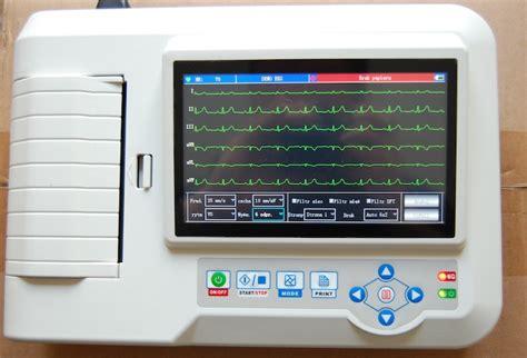 Alat Ekg Portable laptop ultrasound scanners 12 channel portable