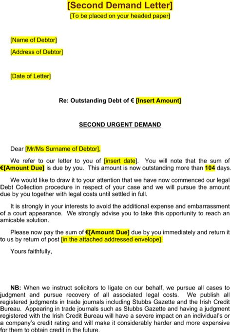 Strong Payment Reminder Letter strong payment reminder letter for free page 4 formtemplate
