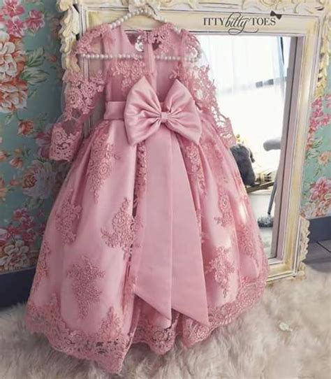 Anya Flower Pink Semi Baby Dress Baju Anak F0623 56 best dresses for ittle images on