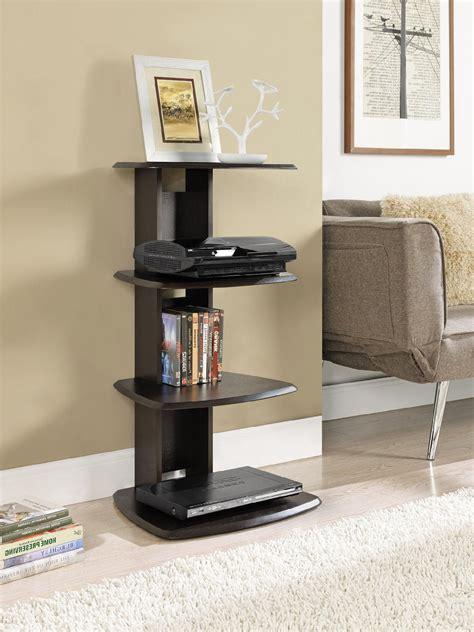 Media Table by Dorel Galaxy Espresso Media Stand