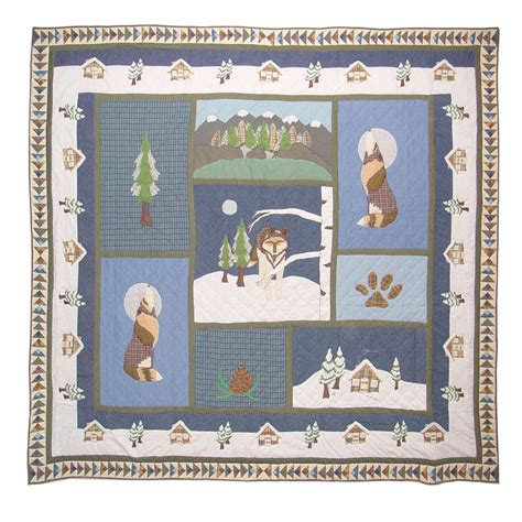 Quilt King Products by Quilt King Wolf Quilt King 95 Quot X 105 Quot