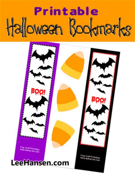 printable bat bookmarks printable halloween bookmarks bats boo and candy corn