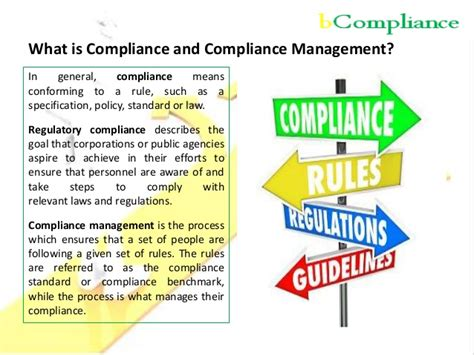 Compliance Administration by Bcompliance And Compliance Management Services