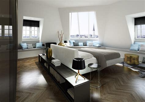 white blue gray modern bedroom decor interior design ideas