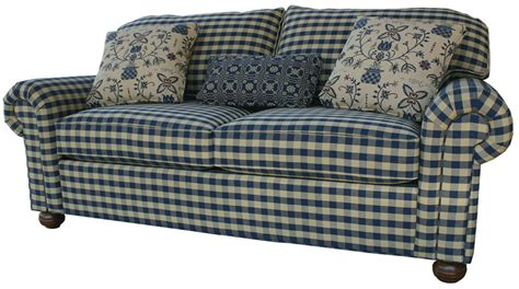 gingham couch gingham sofa country cottage sofas foter thesofa