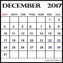 Calendar December 2017 Printable Free December 2017 Printable Calendar Printable Monthly Calendars