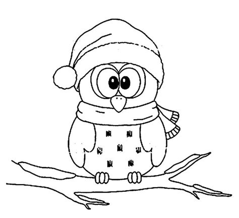 printable christmas owl coloring pages 799 best coloring owls images on pinterest owls barn