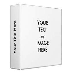 2 in binder spine template create your own 2 quot binder template white zazzle