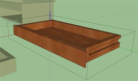How To Build Drawer Slides by How To Build Wood Drawer Slides Pdf Woodworking