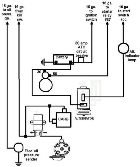 dune buggy turn signal wiring diagram get free image