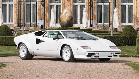 Gold Plated Cars For Sale by For Sale Gold Plated Lamborghini Countach Going Up For