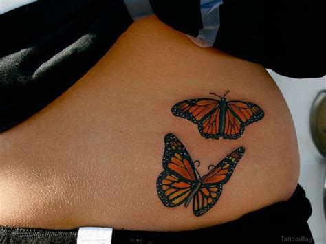 waistline tattoos 50 butterfly tattoos on waist