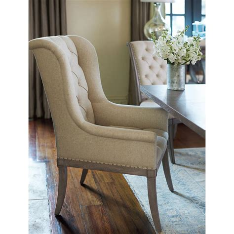 white country dining chairs upholstered michaela country wood upholstered button tufted white dining arm chair kathy kuo home
