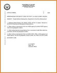 Memo Format Line Spacing 5 Memorandum For Record Cook Resume