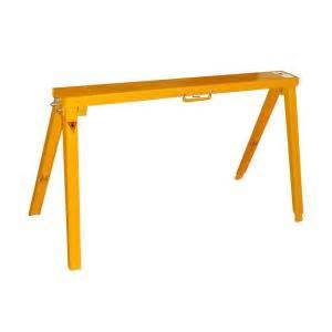 home depot saw horses 34 in adjustable folding sawhorse sh3801 the home depot