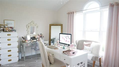 style my room beauty room office room tour