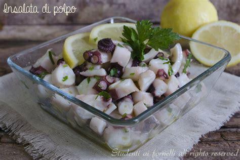 come cucinare il polpo in insalata insalata di polpo al limone e prezzemolo ricetta