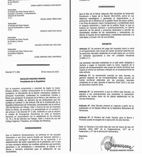 gaceta islr 2016 pago de impuesto sobre la renta ser 225 para quienes hayan
