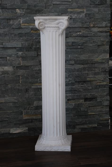 Grecian Columns White Grecian Column Platinum Event Rentals