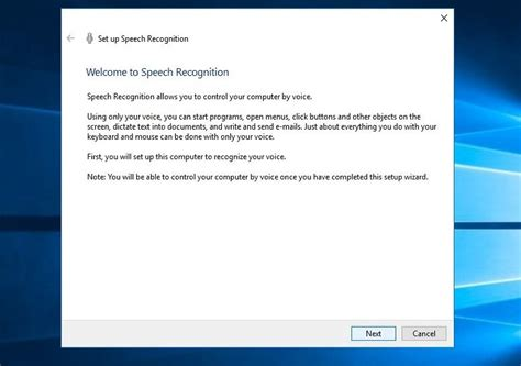 windows 10 speech tutorial how to enable speech recognition on windows 10 a step by