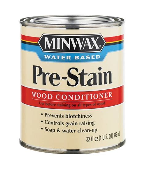 Minwax Stains Minwax Pre Stain Wood Conditioner Water