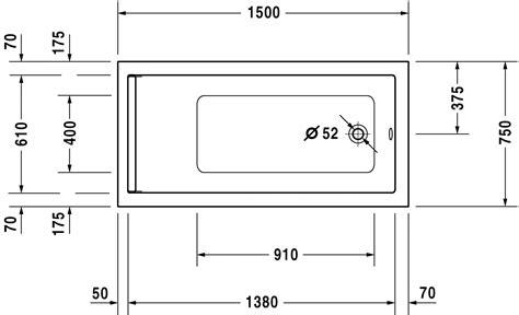 piatti doccia misure piccole starck vasche e piatti doccia vasca 700332 duravit