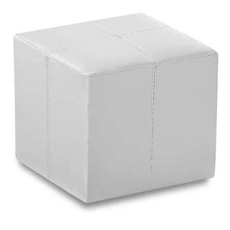 white cube ottoman rubic white cube ottoman 1b 315w cambridge home afw