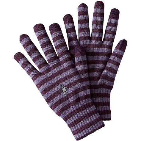 Striped Gloves smartwool striped liner glove moosejaw
