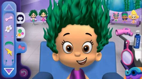 bubble guppies haircut game bubble guppies good hair day free online kids games 2016