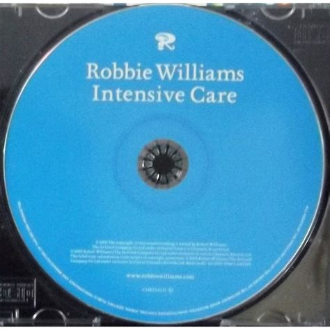 Cd Robbie Williams Album Care intensive care by robbie williams cd with vinyl59 ref 118391933