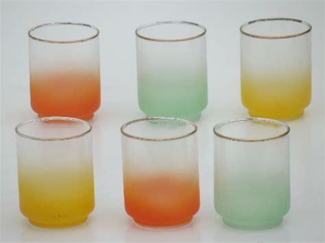Retro Kitchen Furniture retro 60s glassware blendo color fade pastel glass juice