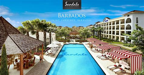 sandals barbados resort and spa sandals barbados all inclusive barbados resort vacation