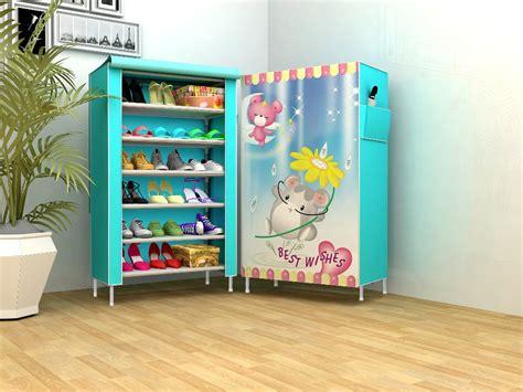 Lemari Rak Sepatu 6 Ruang New Design jual beli new rak sepatu kain lemari sepatu 6 ruang