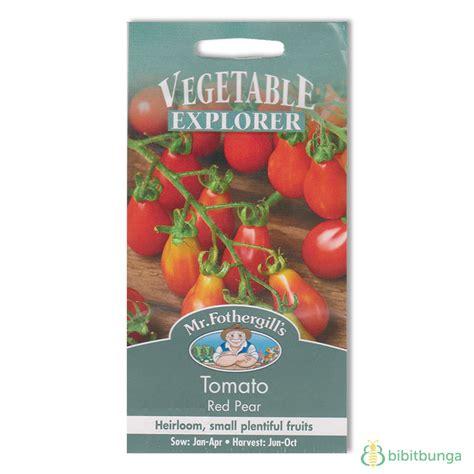 Sale Benih Tomat Pears Pears Tomato Import Benih Tomato Pear 75 Biji Mr Fothergills