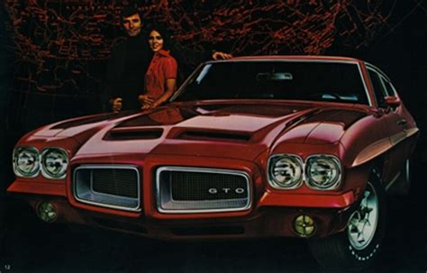 1972 pontiac gto the swan song old car memories