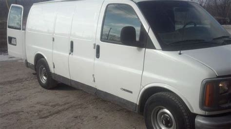 Used Plumbing Vans For Sale by Find Used 1999 Chevrolet Express 1500 Base Standard Cargo
