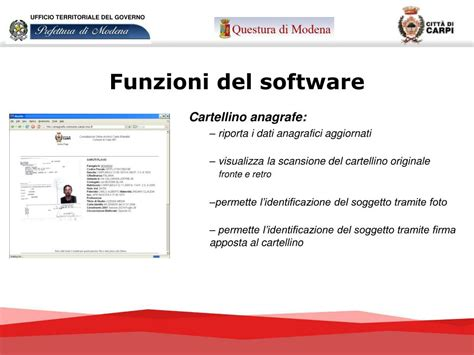 ufficio territoriale ppt cartellini anagrafe powerpoint presentation