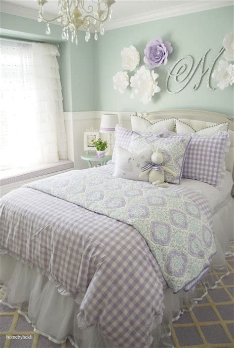 turquoise and lavender bedroom home by heidi purple turquoise little girls room