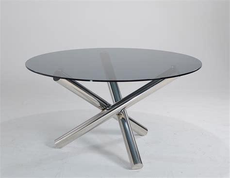 Modern Circular Dining Table Modrest Frau Modern Dining Table