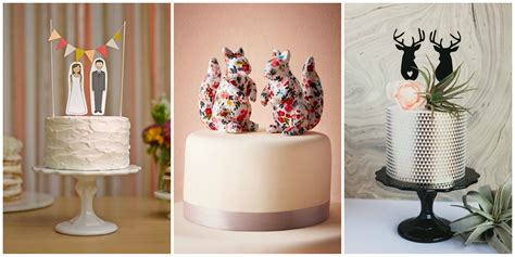 Unique Wedding Cake Toppers by 19 Unique Wedding Cake Toppers