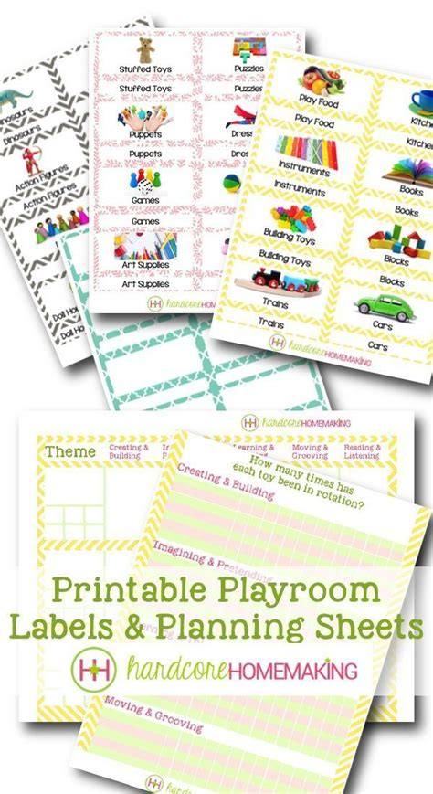printable exterior labels 59 best kids play room toy organization ideas images on